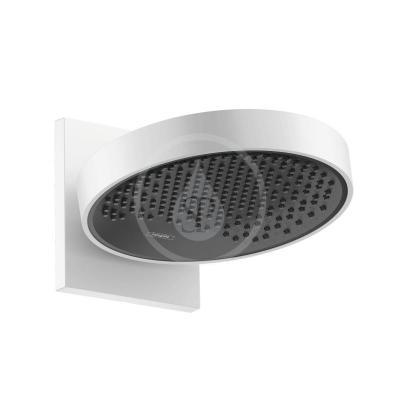 Horní sprcha 250 s připojením, 1jet, EcoSmart, matná bílá