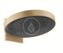 Hansgrohe Rainfinity Horní sprcha 360 s připojením, 1jet, kartáčovaný bronz 26230140