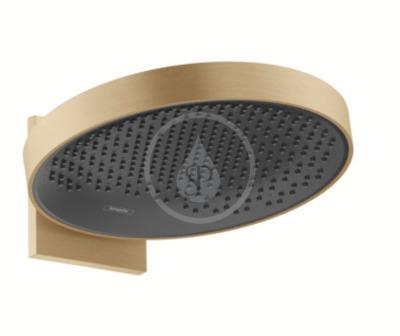 Horní sprcha 360 s připojením, 1jet, kartáčovaný bronz