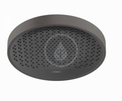 Horní sprcha 360, 1jet, kartáčovaný černý chrom