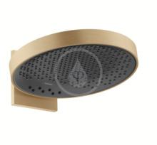 Horní sprcha 360 s připojením, 3jet, kartáčovaný bronz