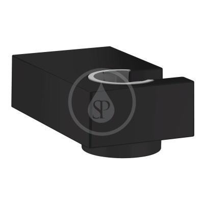 Nástěnný držák sprchy Porter E, matná černá
