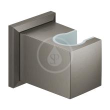 Nástěnný držák sprchy, kartáčovaný Hard Graphite