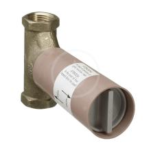 Základní těleso pro uzavírací ventil pod omítku DN 15