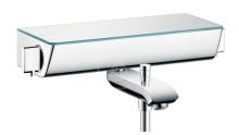 Hansgrohe Ecostat Select Termostatická vanová baterie, bílá/chrom 13141400