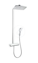Hansgrohe Raindance Select E Sprchový set s termostatem, 360 mm, bílá/chrom 27112400
