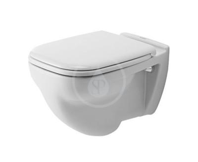 Závěsné WC, ploché splachování, s HygieneGlaze, alpská bílá