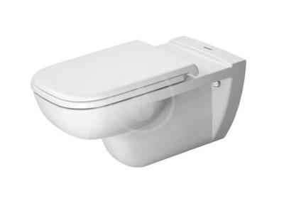 Závěsné WC, bezbariérové, alpská bílá