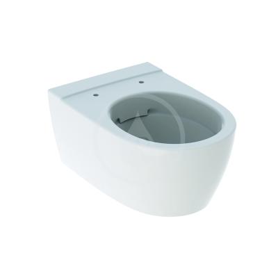 Závěsné WC, Rimfree, 350x530 mm, bílá