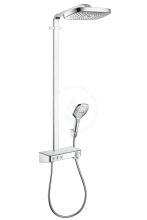 Hansgrohe Raindance Select E Sprchový set Showerpipe 300 s termostatem ShowerTablet Select, 3 proudy, chrom 27127000