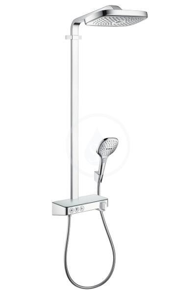 Sprchový set Showerpipe 300 s termostatem ShowerTablet Select, 3 proudy, chrom