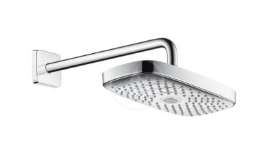 Horní sprcha 300, 2 proudy, sprchové rameno 390 mm, chrom