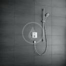Sprchová souprava 120, 3 proudy, chrom