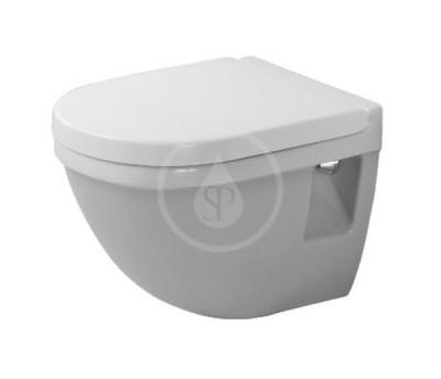 Závěsné WC Compact, s HygieneGlaze, alpská bílá