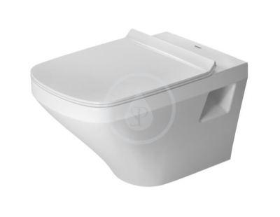 Závěsné WC, s plochým splachováním, s HygieneGlaze, alpská bílá