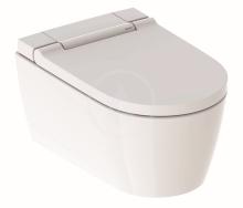 Geberit AquaClean Elektronický bidet Sela s keramikou, závěsný, alpská bílá 146.222.11.1