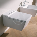 Závěsné WC, 540x350 mm, Rimfree, bílá