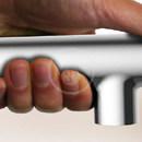 Dřezová baterie s výsuvnou koncovkou, SmartControl, chrom