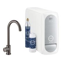 Grohe Blue Home Dřezový ventil Mono Connected, s chladícím zařízením a filtrací, Hard Graphite 31498A01