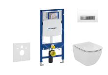 Geberit Duofix Set předstěnové instalace, klozetu a sedátka Ideal Standard, tlačítka Sigma50, Aquablade, SoftClose, alpská bílá 111.300.00.5 NU8