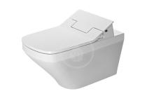 Duravit DuraStyle Elektronické bidetové sedátko SensoWash Slim s keramikou, Rimless, SoftClose, alpská bílá 631001002004300