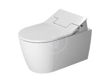 Duravit DuraStyle Elektronické bidetové sedátko SensoWash Slim s keramikou, Rimless, SoftClose, alpská bílá 631000002004300