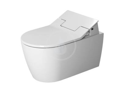 Elektronické bidetové sedátko SensoWash Slim s keramikou, Rimless, SoftClose, alpská bílá