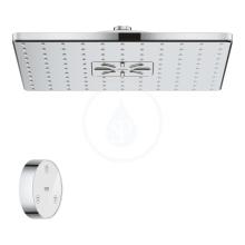 Grohe Rainshower SmartConnect Hlavová sprcha 310 Cube 9,5 l/min s dálkovým ovládáním, 2 proudy, chrom 26643000