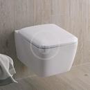 Závěsné WC, Rimfree, bílá