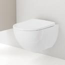 Závěsné WC, Rimfree, s KeraTect, bílá