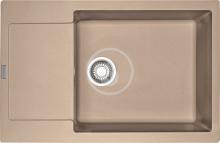 Franke Maris Fragranitový dřez MRG 611-78 BB, 780x500 mm, pískový melír 114.0363.188