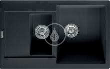 Franke Maris Fragranitový dřez MRG 651-78, 780x500 mm, onyx 114.0285.329