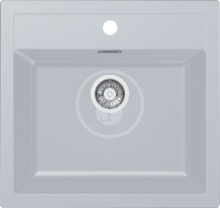 Franke Sirius Tectonitový dřez SID 610, 560x530 mm, bílá 114.0284.165