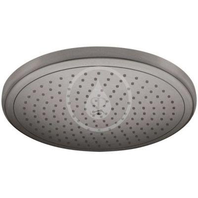 Hlavová sprcha 280, EcoSmart, kartáčovaný černý chrom