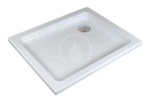 Sprchová vanička Aneta LA , 755x905 mm, AntiBac, bílá