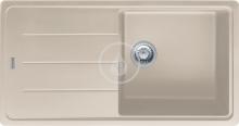 Franke Basis Fragranitový dřez BFG 611, 970x500 mm, sahara 114.0285.308