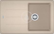 Franke Basis Fragranitový dřez BFG 611-78, 780x500 mm, pískový melír 114.0285.170