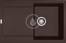 Franke Maris Fragranitový dřez MRG 611, 780x500 mm, tmavě hnědá 114.0284.847