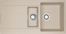 Franke Maris Fragranitový dřez MRG 651, 970x500 mm, pískový melír 114.0120.250
