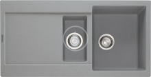 Franke Maris Fragranitový dřez MRG 651, 970x500 mm, šedý kámen 114.0120.253