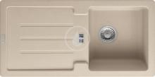 Franke Strata Fragranitový dřez STG 614, 860x435 mm, pískový melír 114.0263.977
