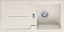 Franke Strata Fragranitový dřez STG 614, 860x435 mm, vanilka 114.0285.600