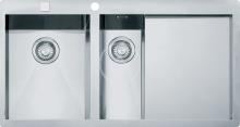 Franke Planar Nerezový dřez PPX 251/651 TL, 1000x512 mm + sifon 127.0203.467