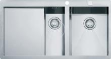 Franke Planar Nerezový dřez PPX 251/651 TL, 1000x512 mm + sifon 127.0203.468