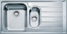 Franke Neptun Nerezový dřez NEX 651/2, 1000x510 mm 101.0120.275