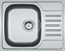 Franke Nerezový dřez PXN 611-60, 615x490 mm + sifon 101.0286.040