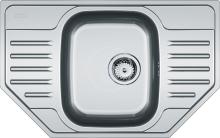 Franke Polar Nerezový dřez PXN 612 E, 780x490 mm + sifon 101.0252.180