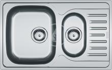 Franke Polar Nerezový dřez PXN 651-78, 780x490 mm + sifon 101.0252.192