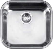 "Franke Quadrant Nerezový dřez QAX 610, 3 1/2"", 445x415 mm + sifon 101.0286.031"