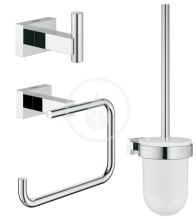 Grohe Essentials Cube Sada doplňků, chrom 40757001